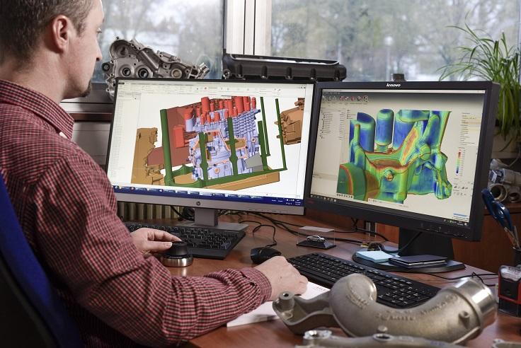 Sandguss, Aluminumguss, Entwicklung, Prototyping desktop